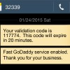 GoDaddy SMS breaks new record in two-factor authentication