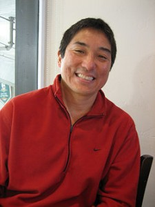 Fortunately, Guy Kawasaki did not appear at the conference that night but a typo-squatter did
