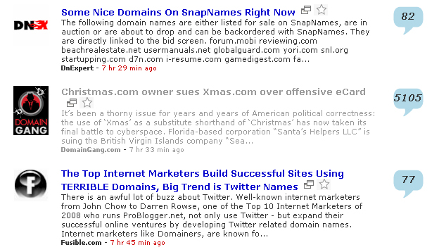 Note: Clicks are visible only when one is logged in