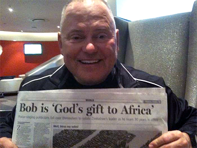 Bob Parsons is 'a gift from God' in Africa