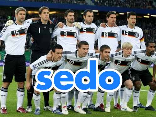 Sedo behind huge bonus for German team