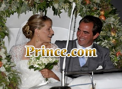 Prince.com an apparent Wedding Gift to Prince Nikolaos of Greece