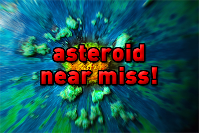 Asteroid nearly destroys the entire .Co inventory