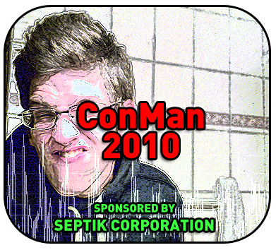 ConMan Conference: pay for tickets with goat cheese or used socks!