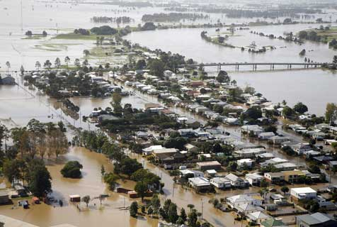Australian Floods affect local Business response times