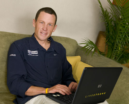 Back off! Lance Armstrong launches anti-defamation web site