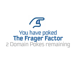 Francois introduces Domain Poke to fight blog spam