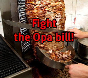 Greek restaurant owner fights GoDaddy and the OPA bill