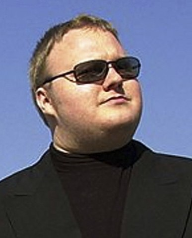 Fat Kim Dotcom meets the Numa Numa guy