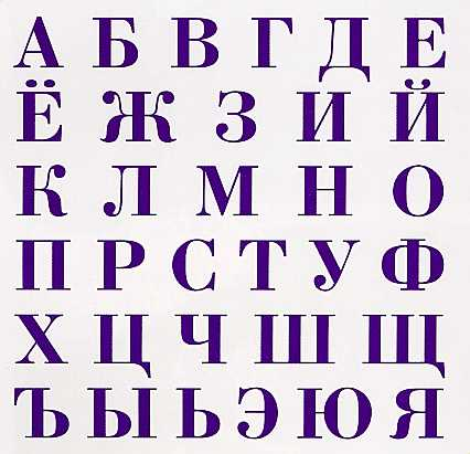 Cyrillic letters are used in Russian IDN domains.