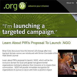 PIR confirms 10 millionth .ORG domain has been registered