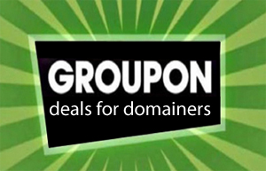 6 Groupon offers for Domainers