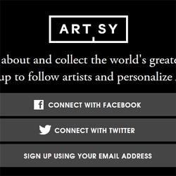 Artsy.net sends nice traffic to Artsy.com