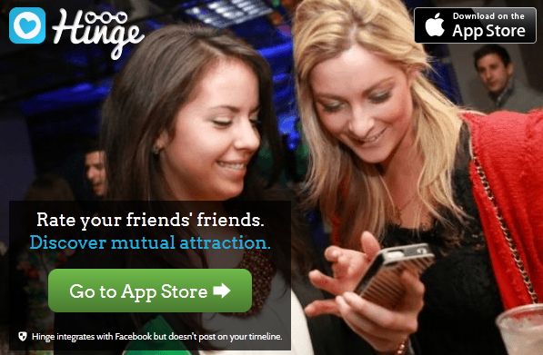 Hinge: Another start-up using .CO for its app product