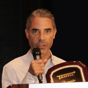 Mike Mann at TRAFFIC 2012 in Ft. Lauderdale.