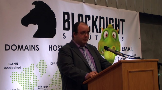 Michele Neylon, CEO of Blacknight Solutions.