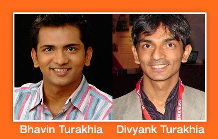 The Turakhia Brothers are successful entrepreneurs.
