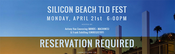 Uniregistry & Minds + Machines announce Silicon Beach TLD Fest