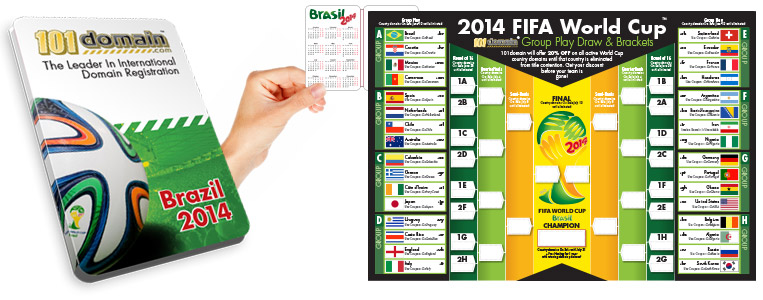Starting soon: World Cup soccer in Brazil.