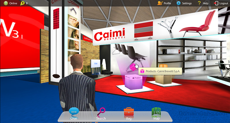 Virtual Web Fair: