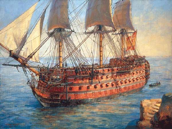 El Palomita - sank in 1524.