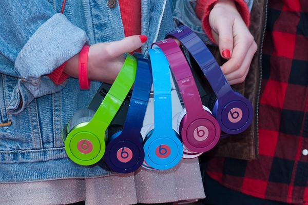 Chinese counterfeit Beats headphones.