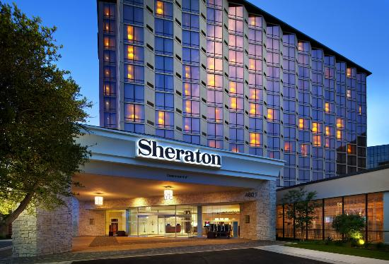 Sheraton hotel in Dallas. Need a cab?