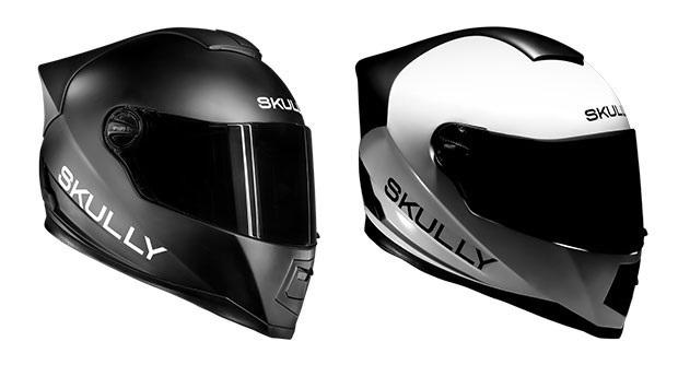 The Skully Systems AR1 helmet.