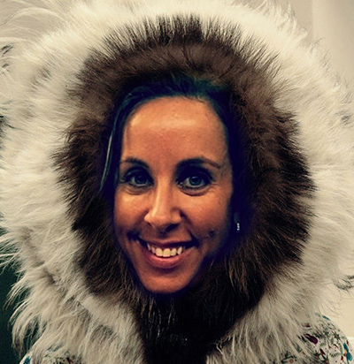 Tessa Holcomb, Igloo Chief Eskimo Officer.