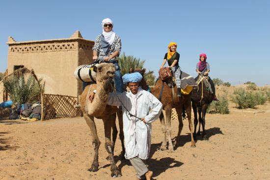 ICANN officials using the transportation system in Morocco.