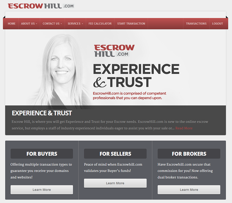 EscrowHill domain escrow now covers all 50 US states.