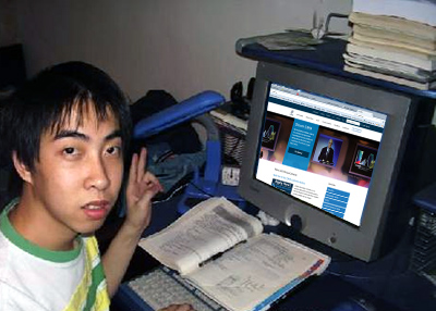 North Korean hacker at the ICANN web site.
