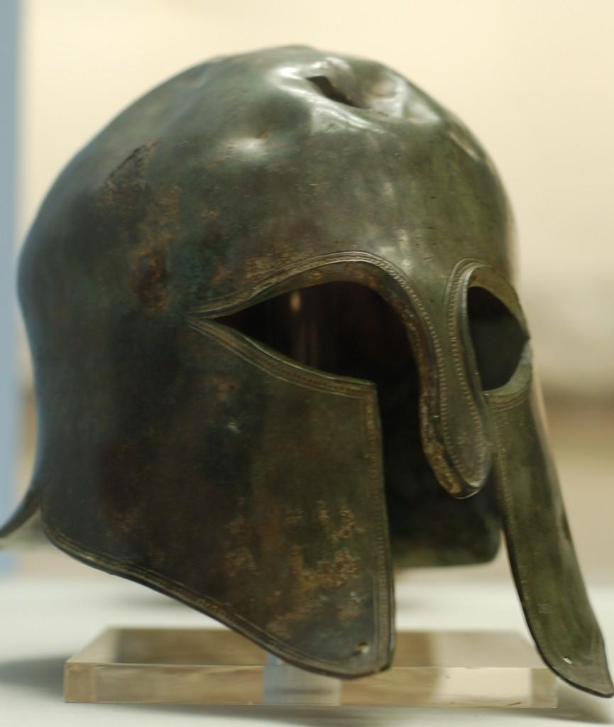 Real Spartan helmet Real Ancient Spartan Weapons