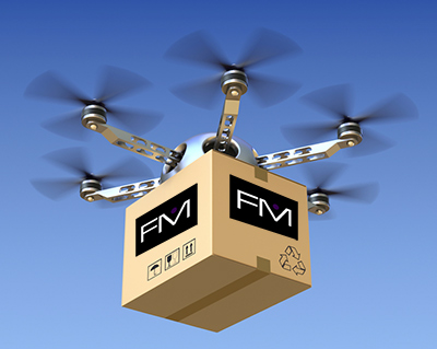 Fashion Metric Drone Delivery