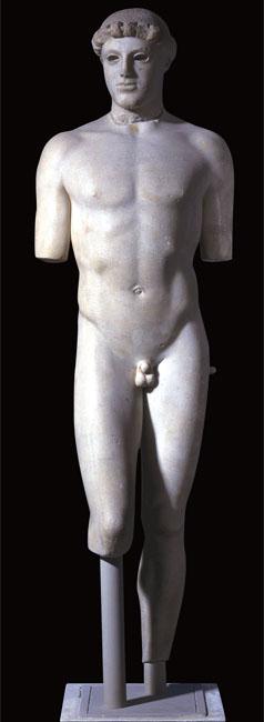 Oreos! Like a Greek statue.