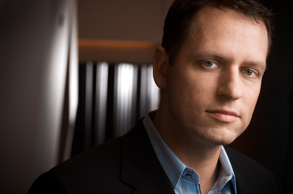 Peter Thiel, PayPal creator.
