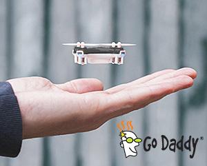 godaddy-drone