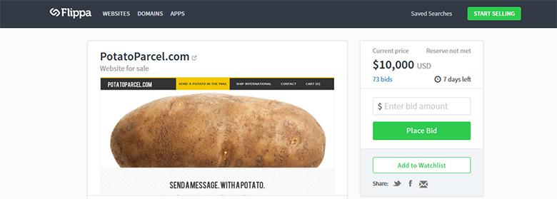 potato-parcel