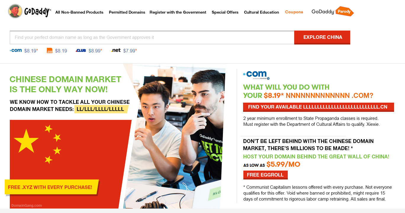 China Daddy: Expanding into the Chinese domain market ...