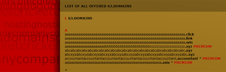 Get some ultra-long domains!