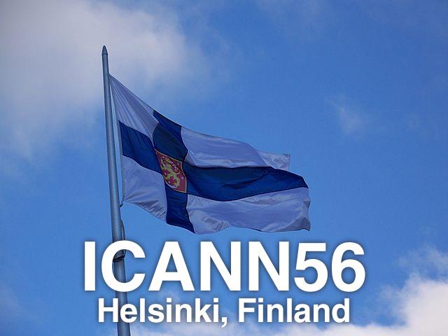 ICANN56 - Helsinki, Finland.
