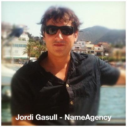 Jordi Gasull - CEO of NameAgency.com.