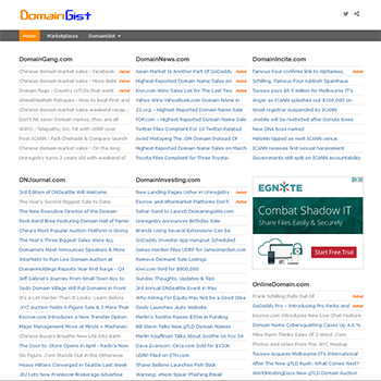 Namegist.com - A new domain news aggregator.