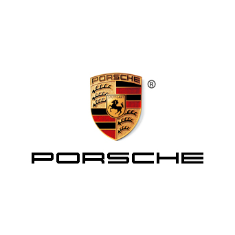 The official Porsche logo.