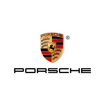 The official Porsche logo.