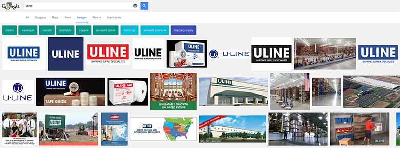 Uline at Google.