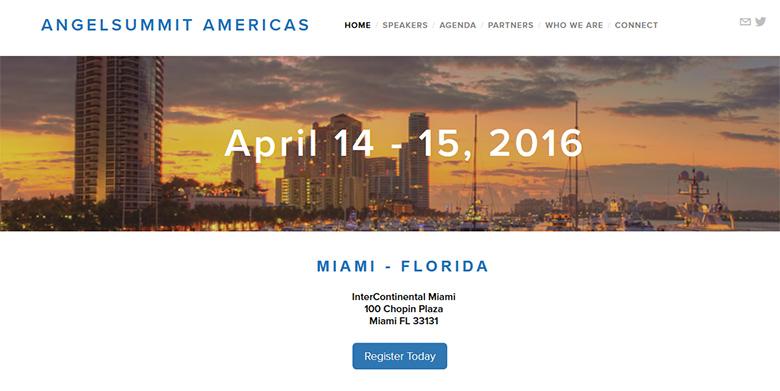 AngelSummit 2016 - Miami, FL.