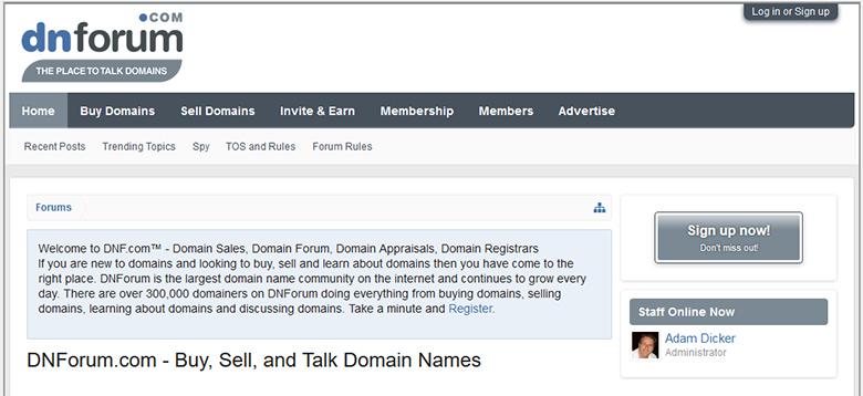 DNForum.com currently online.