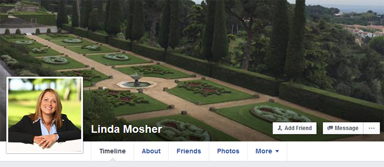 Linda Mosher on Facebook.
