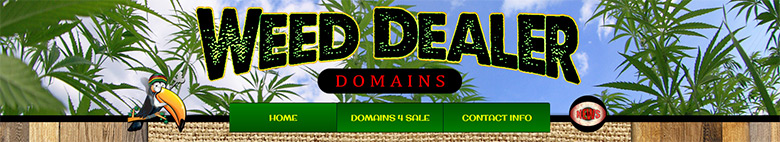 Tim Papadeas is selling 200 ganja-related domains.